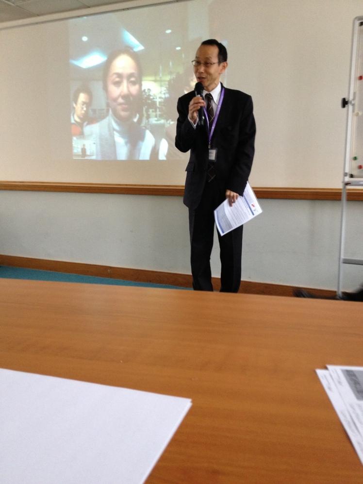 Fukushima-san from the Japan Foundation
