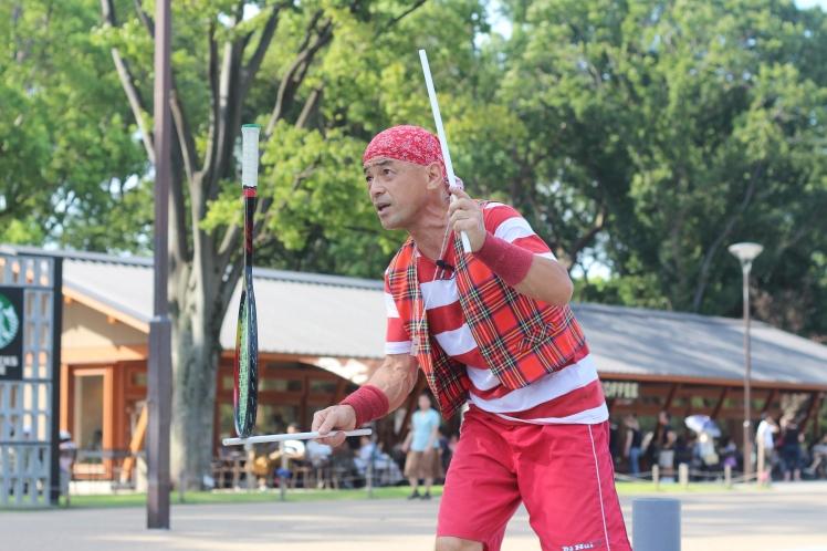 Performer in Ueno Park