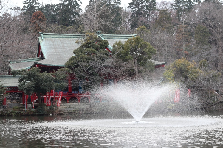 Inokashira park fountain