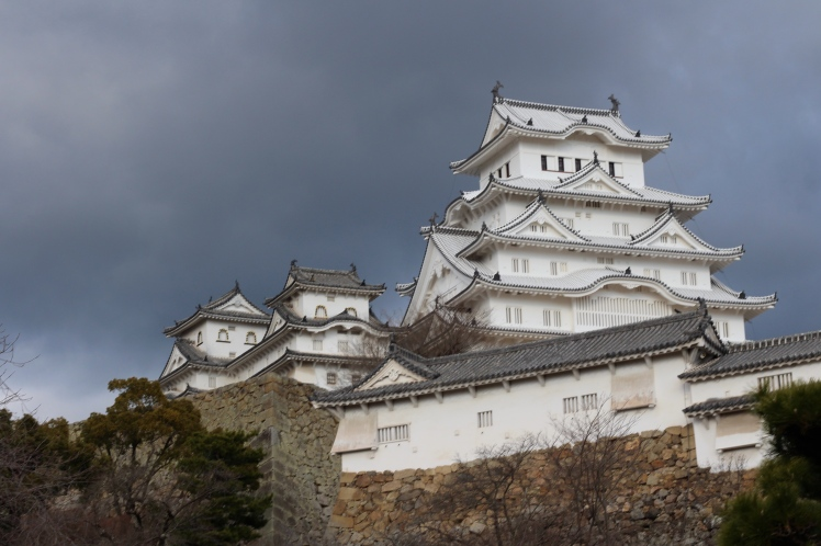 "Himeji castle is also known as 白鷺城 (shirasagi jou) - egret castle. But since it's renovation locals find that the castle is too white and have started calling it 白すぎ城 (shirosugi jou) - ""too white castle""."